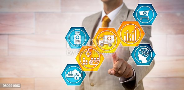 istock Pharma Logistician Monitoring Supply Chain 960991960