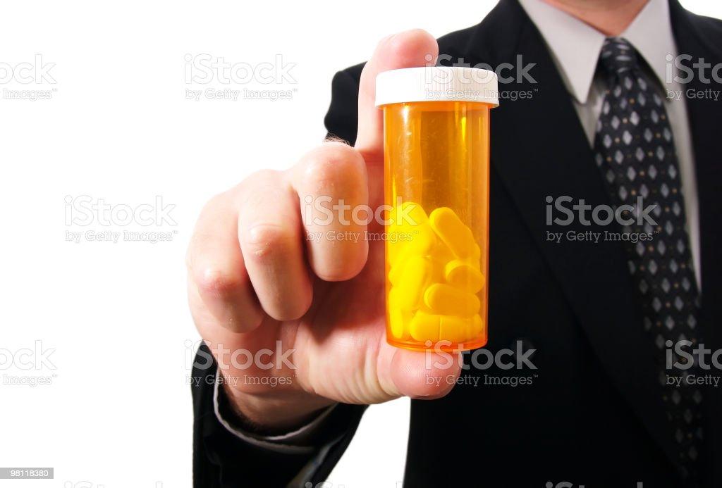 Vendite di farmaceutici foto stock royalty-free