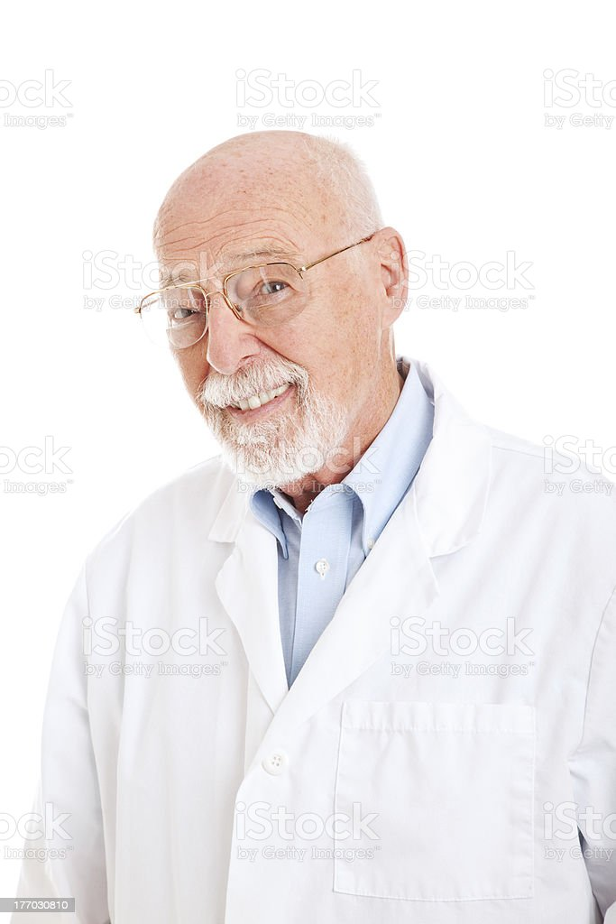 Pharmacist Scientist or Doctor royalty-free stock photo