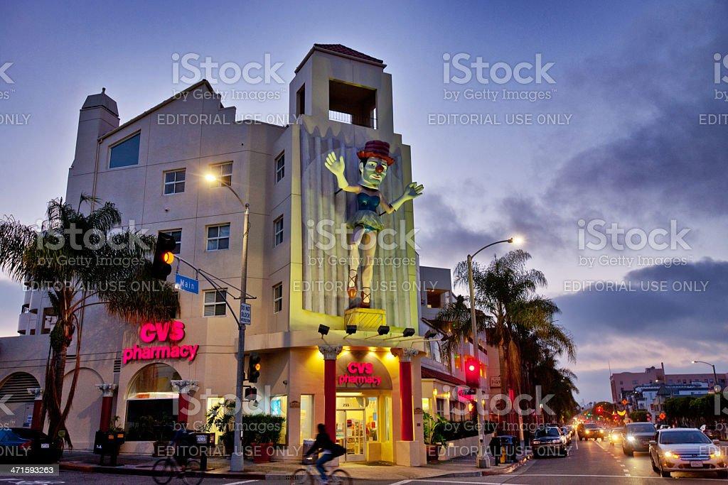 CVS Pharmacy at Venice Beach, California royalty-free stock photo