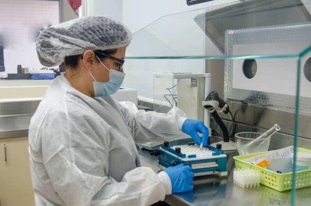 pharmacy at work - pharmaceutical compounding stock photos and pictures