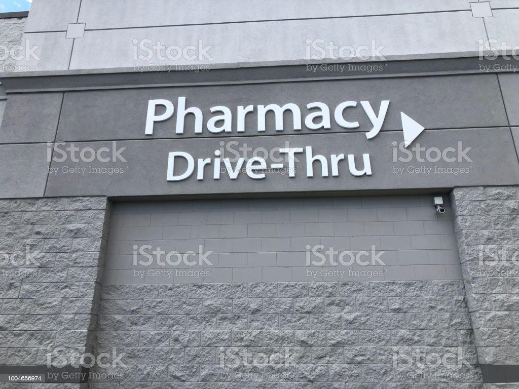 Pharmacy drive through
