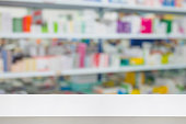 istock pharmacy drugstore shop interior blur background 897329806