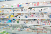 istock pharmacy drugstore shop interior blur background 905357486