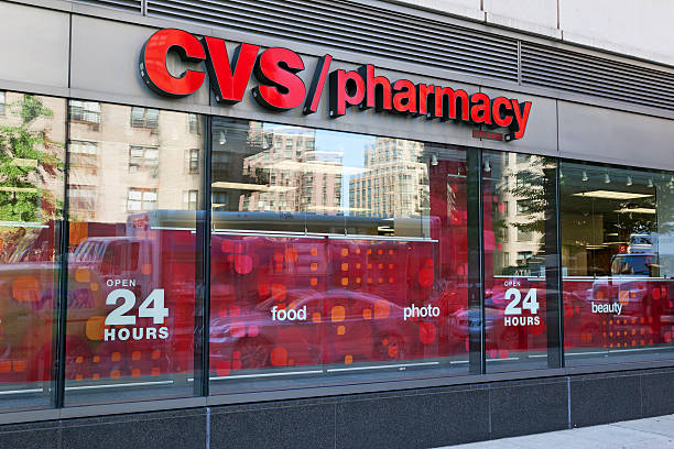CVS Pharmacy in New York City stock photo