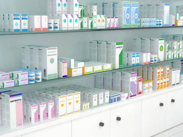 pharmacy - chemist stock photos and pictures