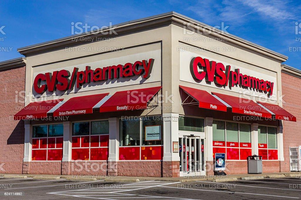 CVS Pharmacy Retail Location VI stock photo