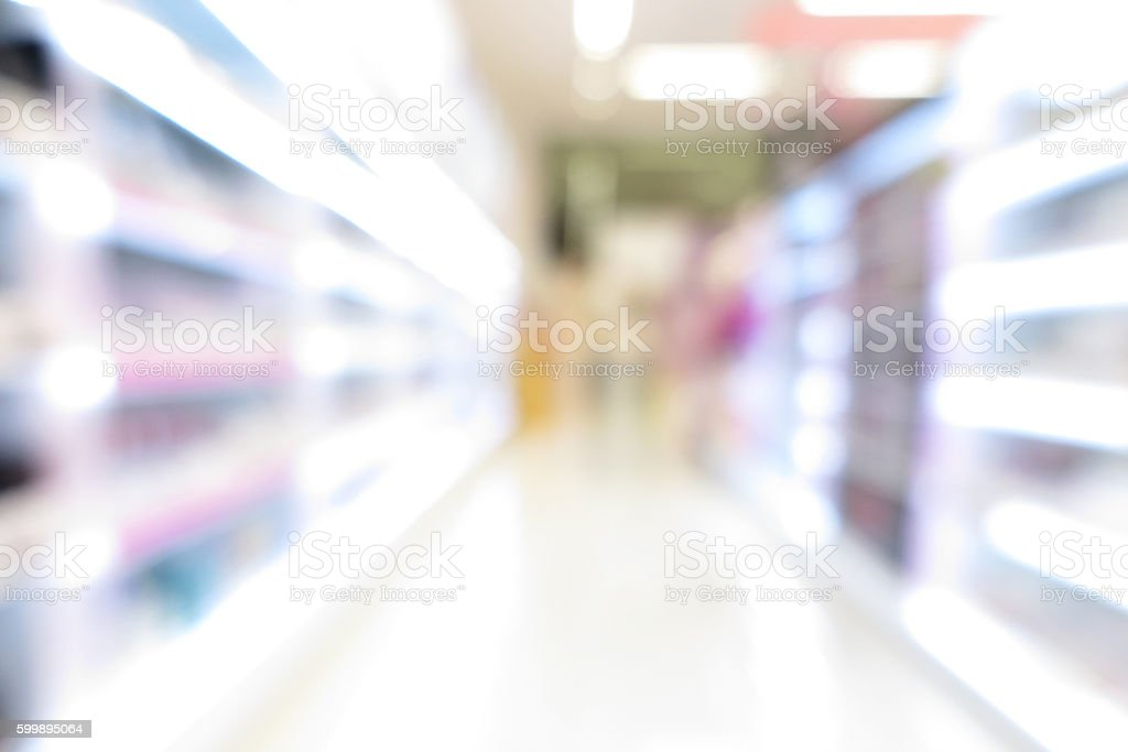 Pharmacy store, drug store, healthcare shop, supermarket modern stock photo