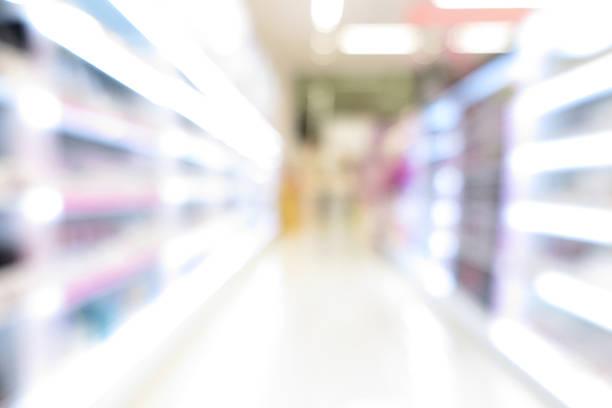 pharmacy store, drug store, healthcare shop, supermarket modern - dagligvaruhandel, hylla, bakgrund, blurred bildbanksfoton och bilder