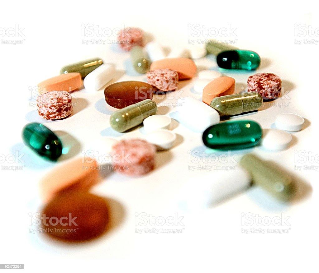 Pharmacy Tablets royalty-free stock photo