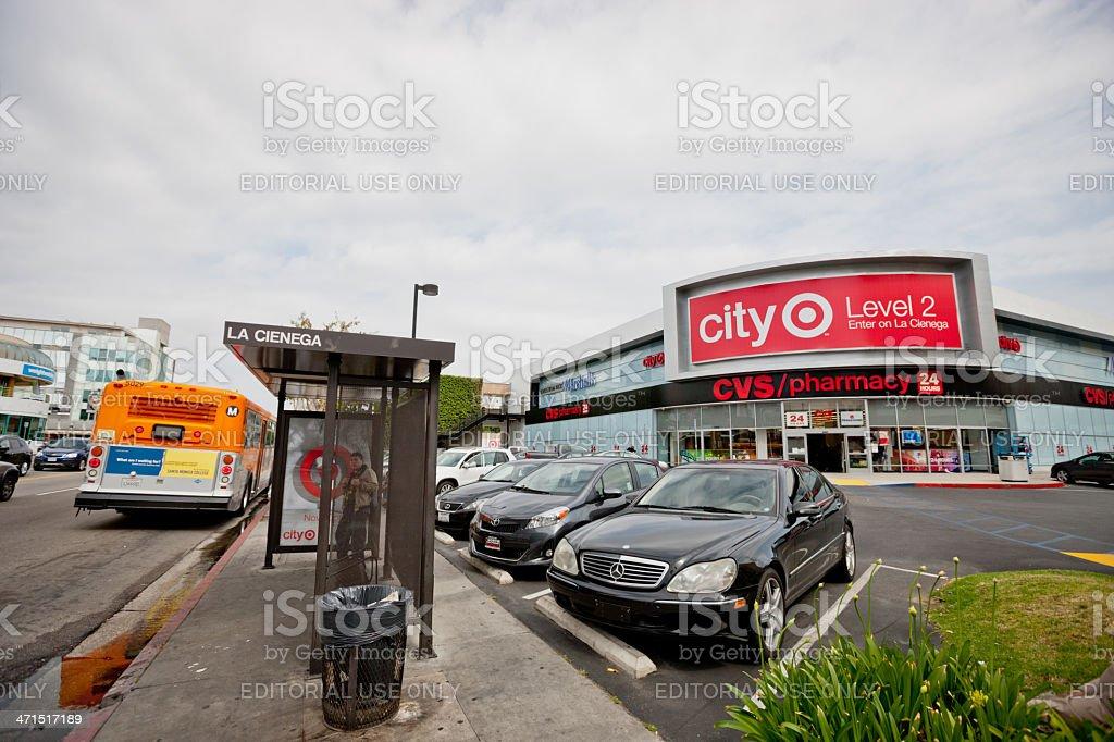 CVS Pharmacy, West Hollywood, USA royalty-free stock photo
