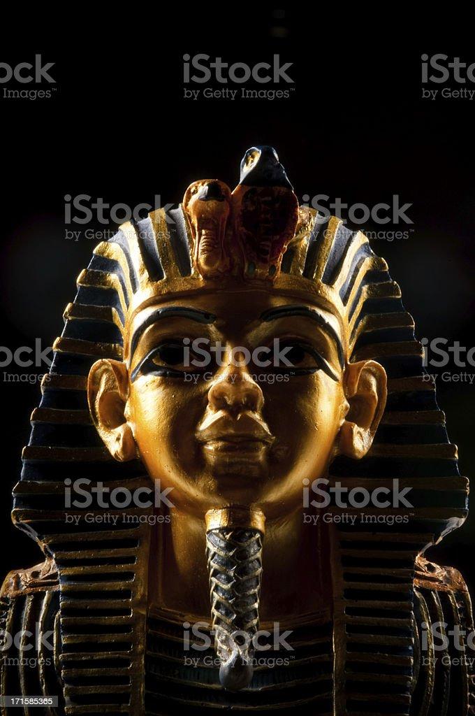 Pharoah Mask royalty-free stock photo