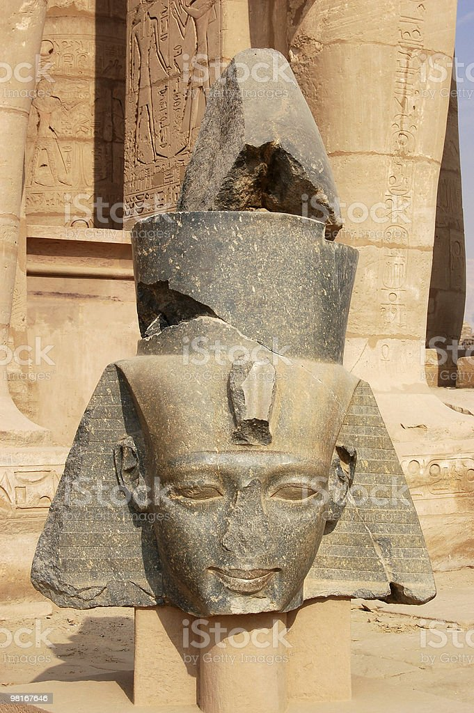 Pharoah's Head royalty-free stock photo