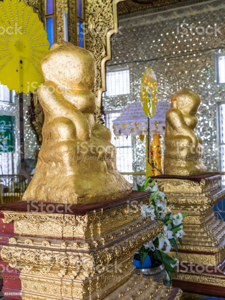 Phaung Daw Oo temple in Mogok, Myanmar stock photo