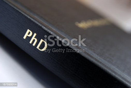 Doctoral thesis in education correlation