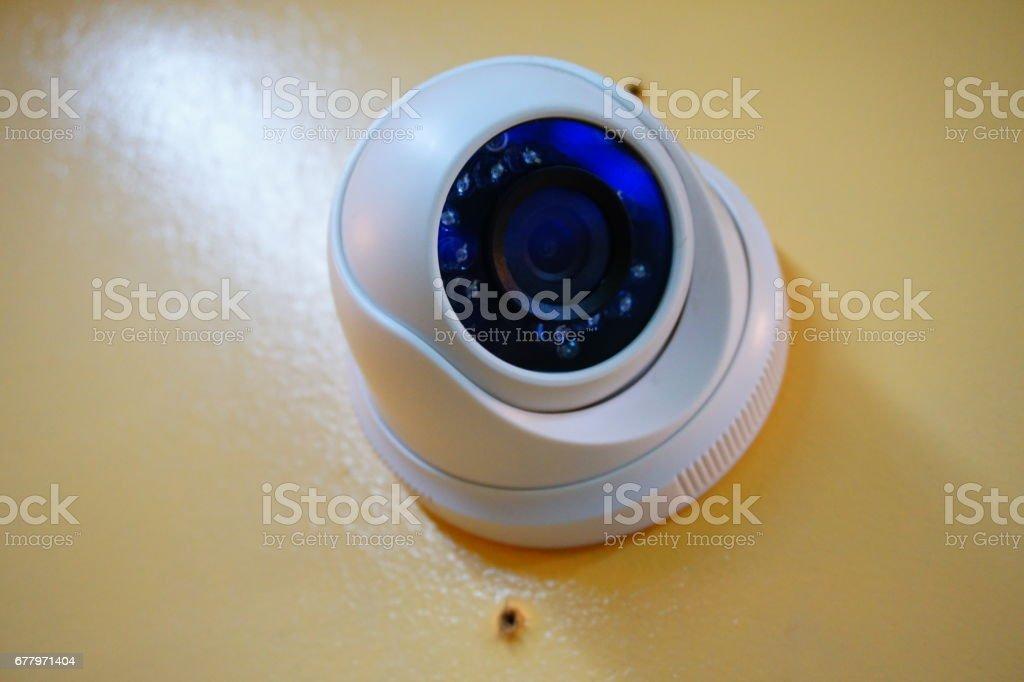 pherical Security Mount Camera royalty-free stock photo