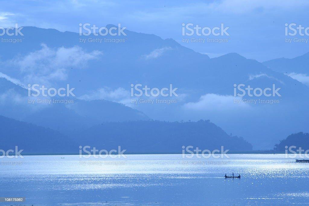 See Phewa Lake in Pokhara, Nepal. – Foto