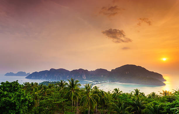 phi phi island, Krabi, Southern von Thailand – Foto