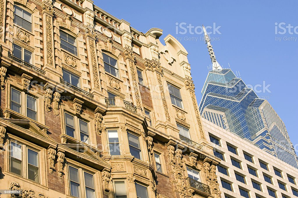 Arquitetura de Filadélfia - foto de acervo