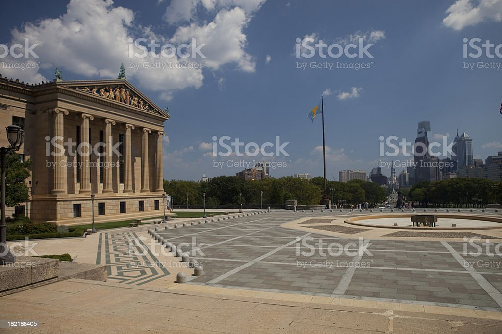 Philadelphia Art Museum stock photo