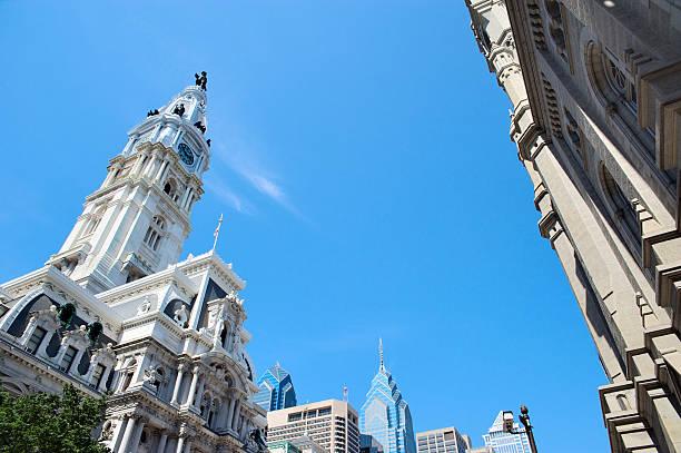 Philadelphia City Hall stock photo