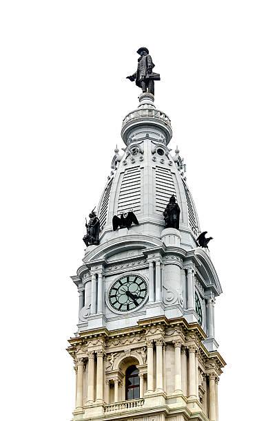Philadelphia City Hall - foto stock