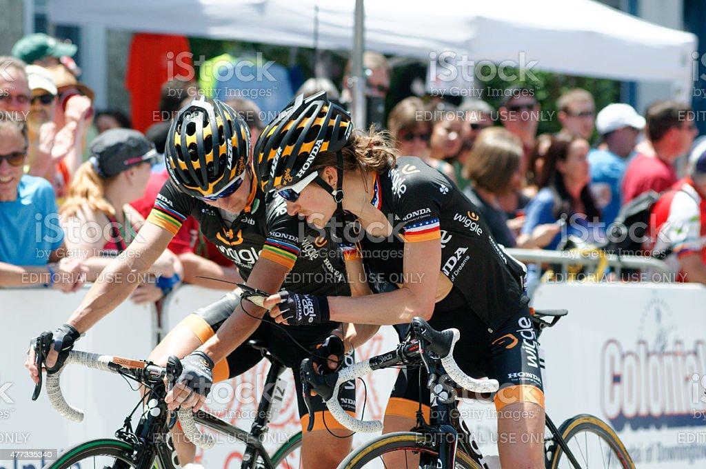 Philadelphia International Cycling Classic (BTS) stock photo