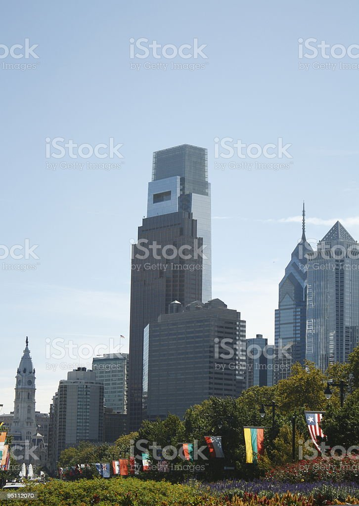Philadelphia, PA skyline stock photo