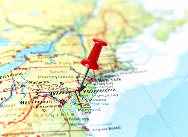 Maps United States Map Philadelphia Case Study Smart Grid Smart - Philadelphia on a us map