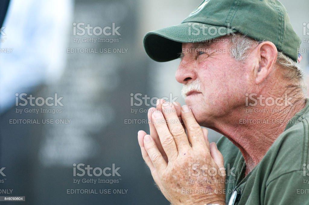 Philadelphia POW/MIA Memorial Ceremony royalty-free stock photo