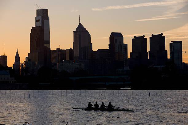 Philadelphia Skyline at Dawn