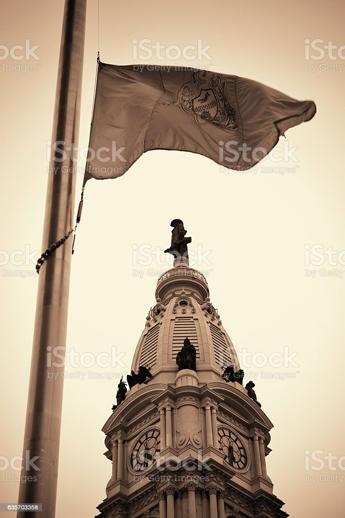 Philadelphia street royalty-free stock photo