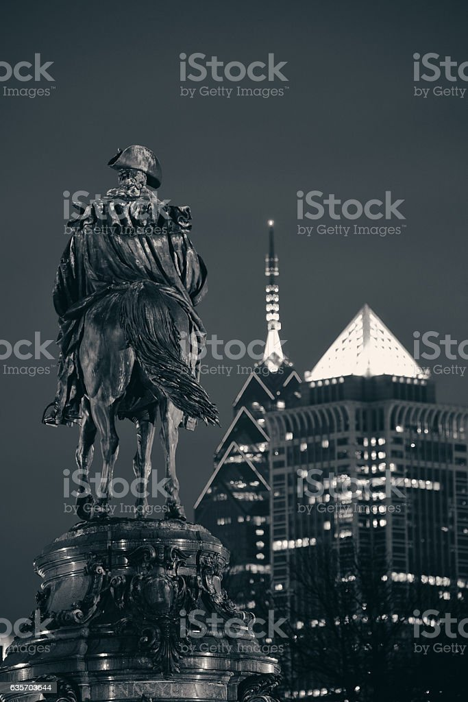 Philadelphia street royalty-free stock photo
