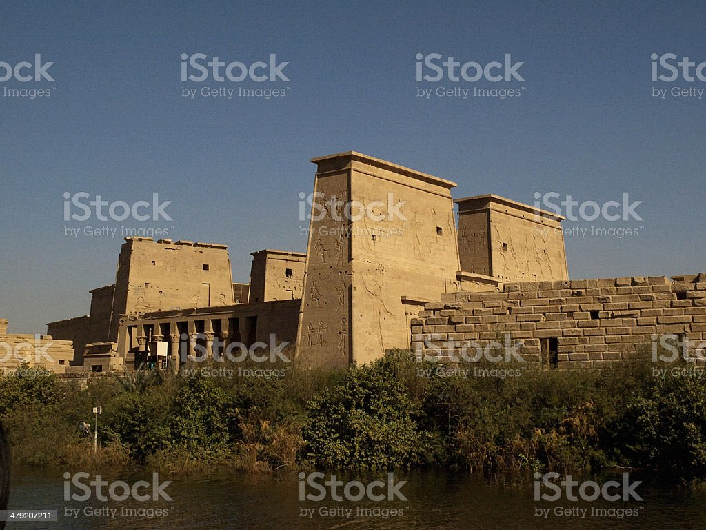 philae royalty-free stock photo