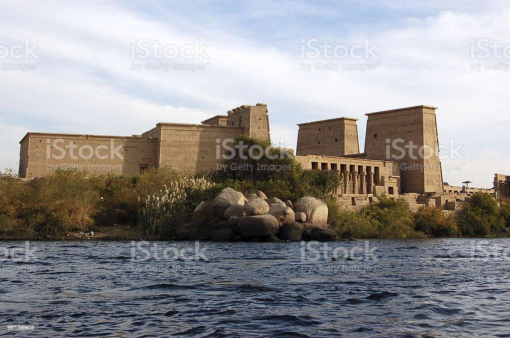 File Tempio, Egitto foto stock royalty-free