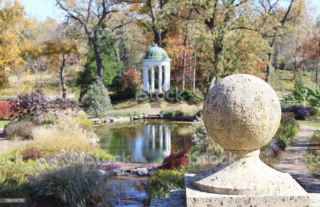 Philbrook Museum of Art Gardens royalty-free stock photo