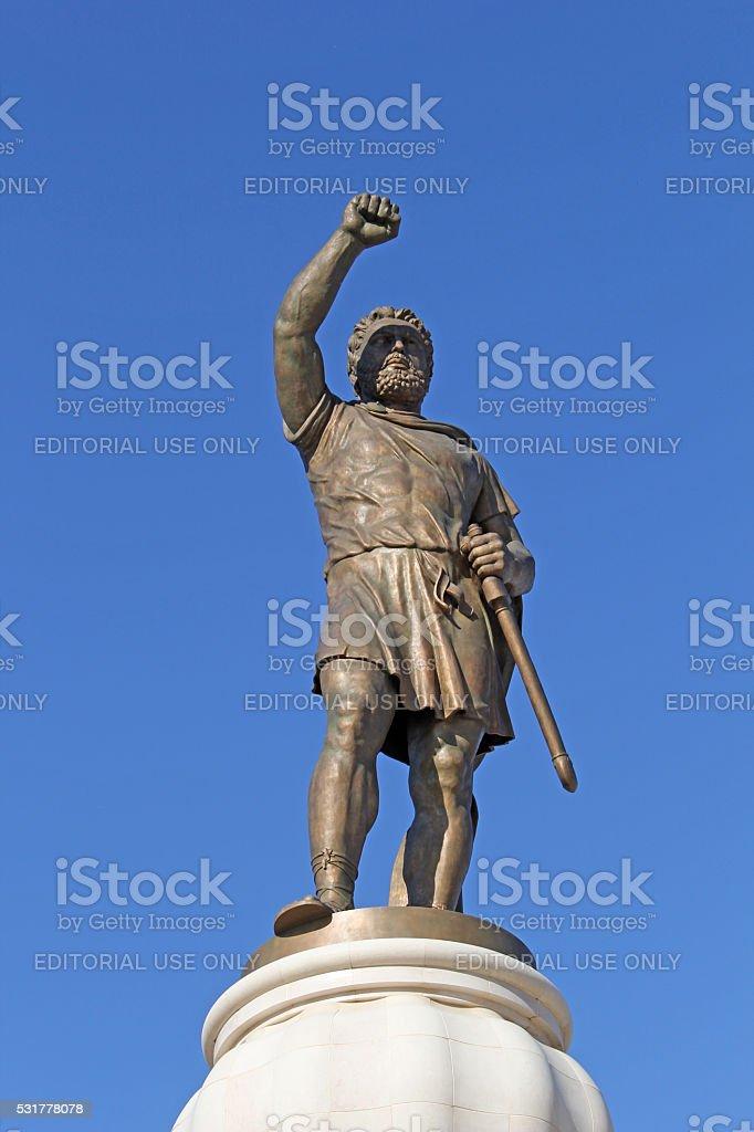 Philip II of Macedon stock photo