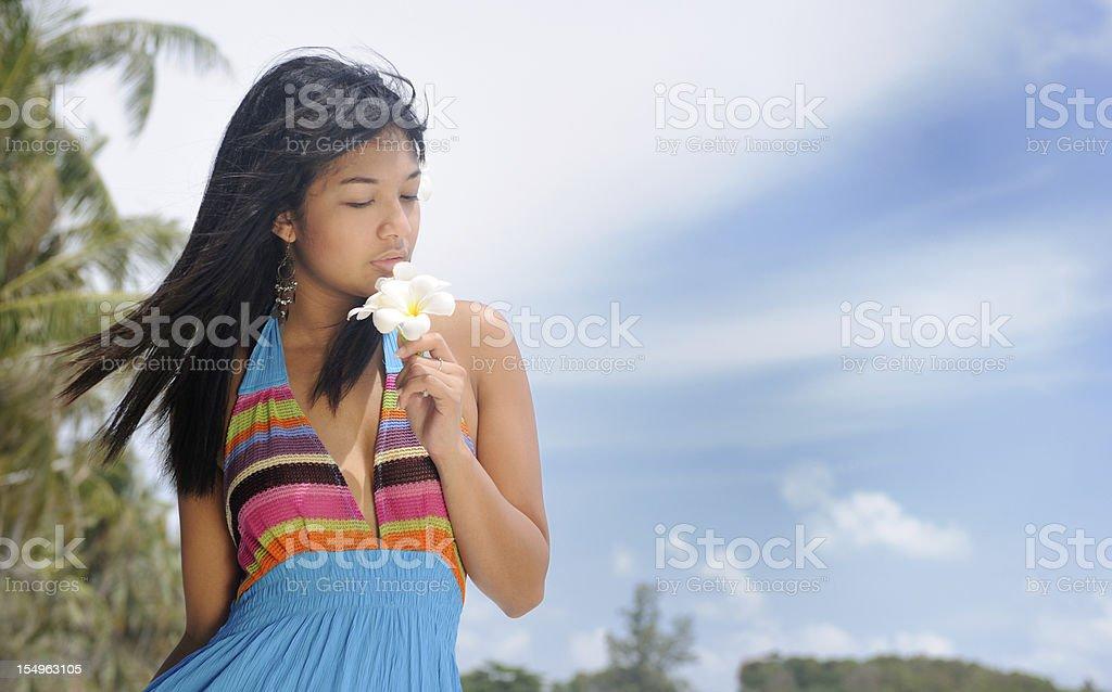 Philippine Beauty at the Beach (XXXL) royalty-free stock photo