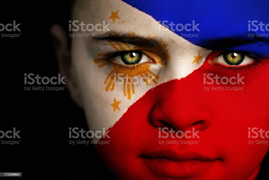 Philippine Boy royalty-free stock photo