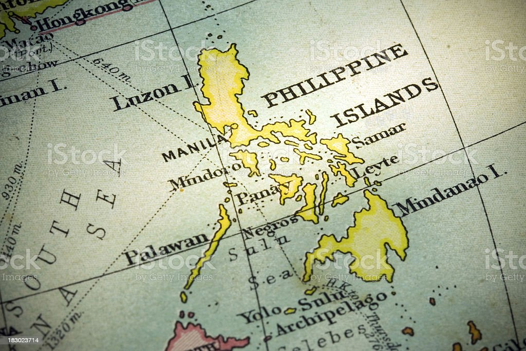 Philippine Islands royalty-free stock photo