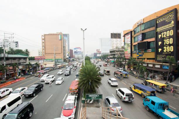 Philippinische Straße – Foto