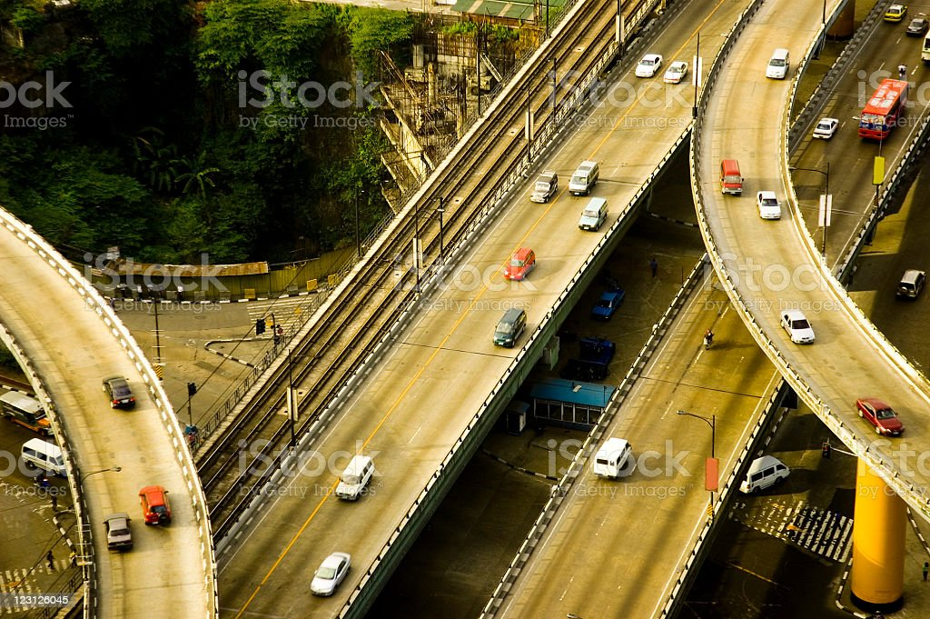 Philippine Roads royalty-free stock photo
