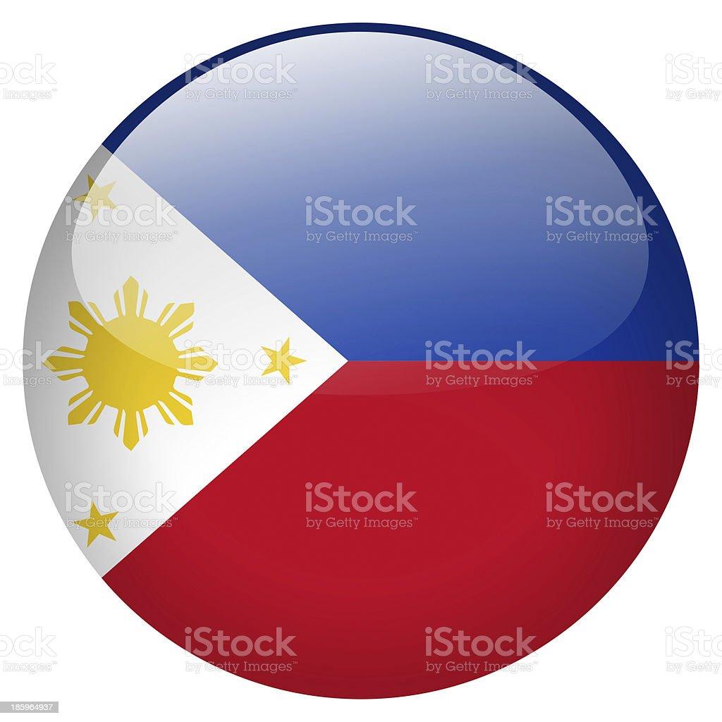 philippines button stock photo