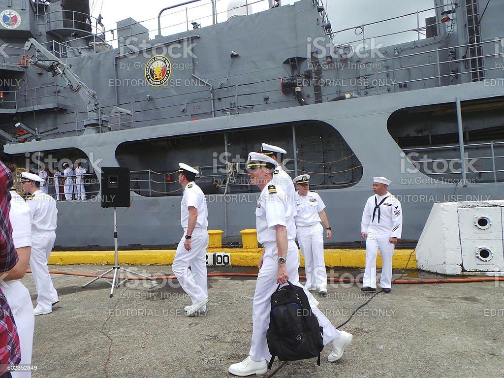 US-Filipinas faz quilates de 2014 - foto de acervo