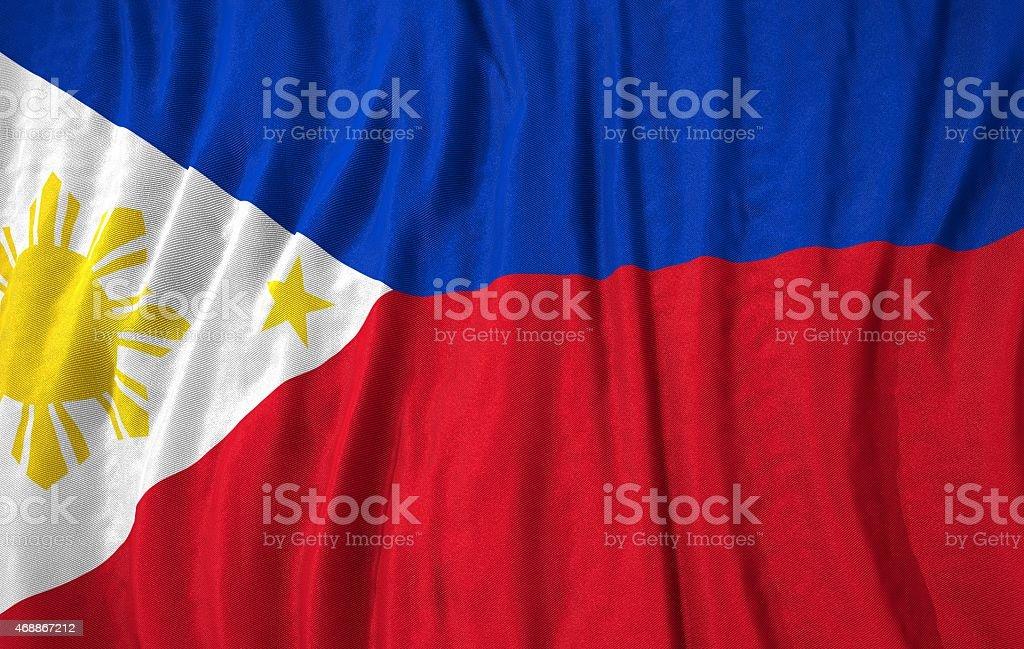 Philippines flag 3d illustration stock photo