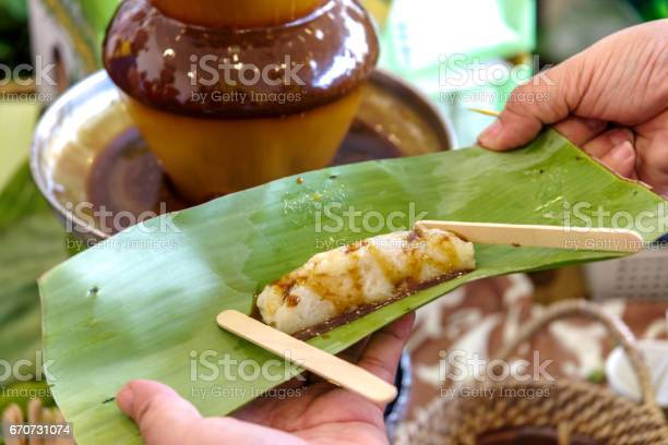 Philippines food halaya wrap in banana leaps picture id670731074?b=1&k=6&m=670731074&s=612x612&h=7djifqd7bgacum6kg13z9mjvna ra koll3tvi8qwqq=