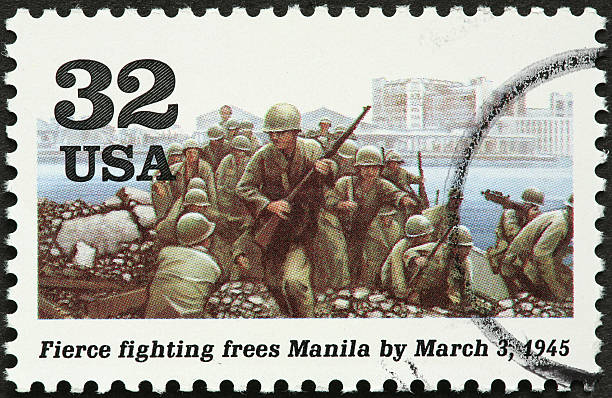 Philippines in world war II stock photo