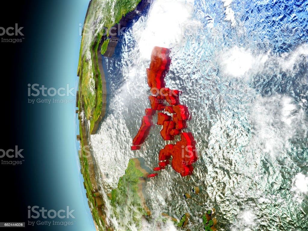 Philippines on planet Earth from space stock photo