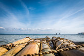 Picture from a raft on Pandanon Island, Cebu, Philippines.