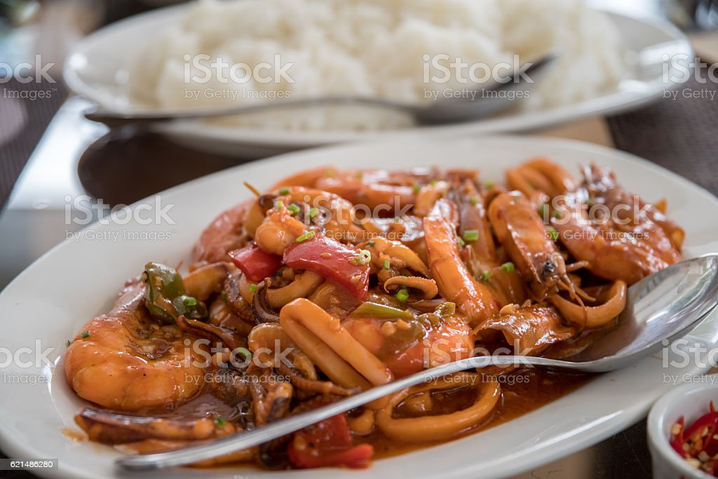 philippines style sea food foto stock royalty-free